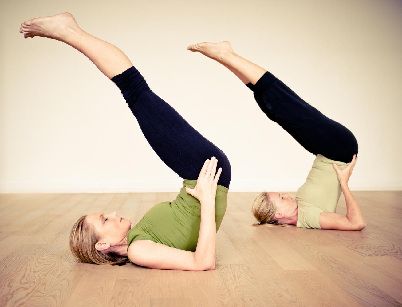 hormon yoga viparita karani (umkehrhaltung)
