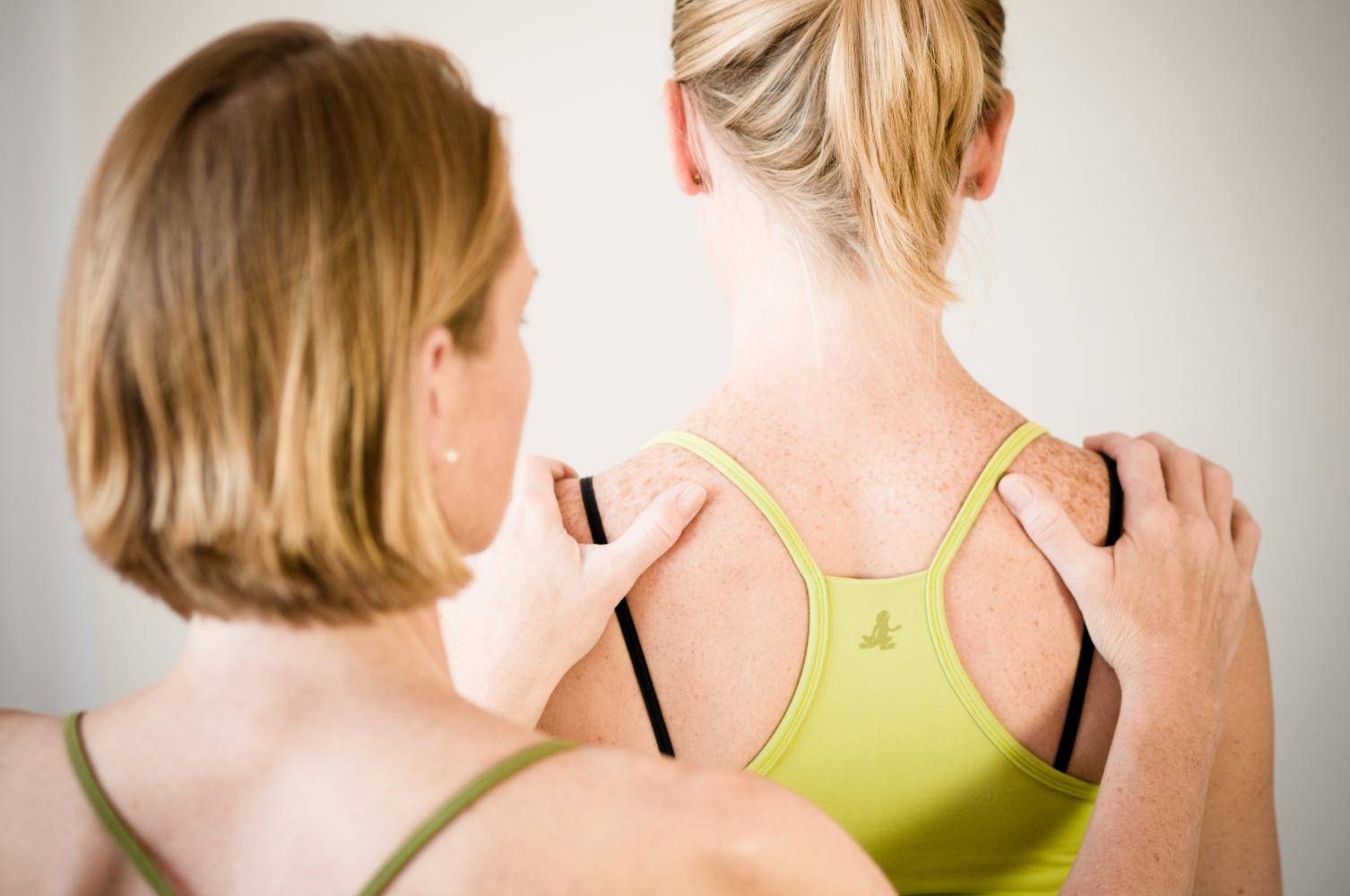 thai yoga massage nackenmassage
